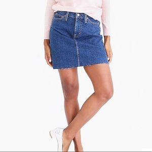 JCrew Denim Skirt